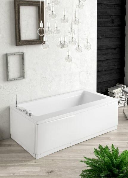 vasca da bagno spaziosa