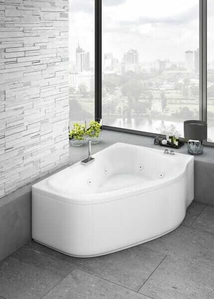 Vasca da bagno 170×120-130
