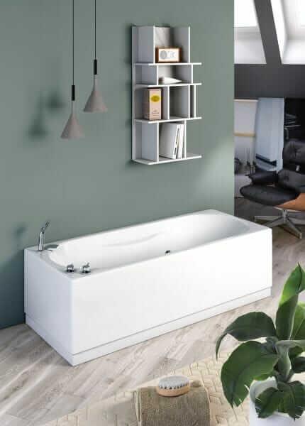 vasca da bagno rettangolare 170x70