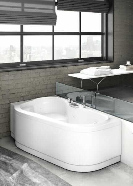 Vasca da bagno 170×90-100