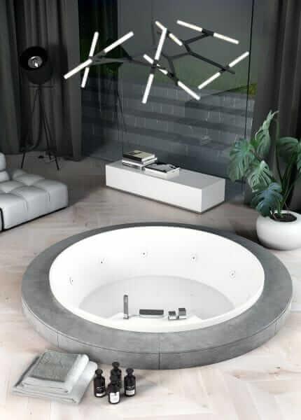 vasca da bagno da incasso