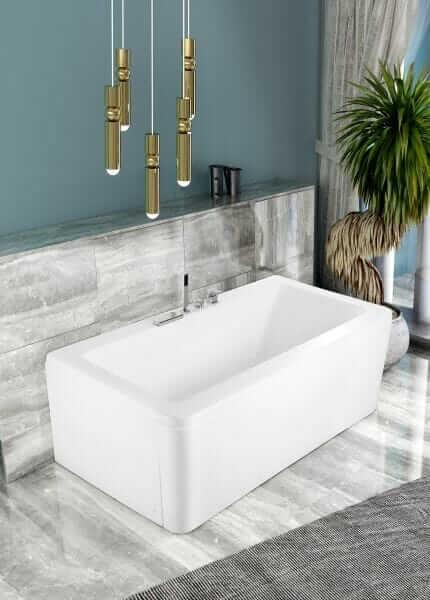 Vasca da bagno design minimal