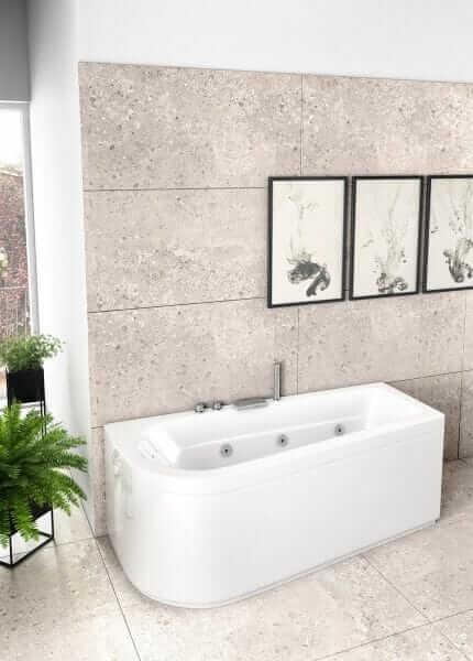 Vasca da bagno piccola 172×60-80
