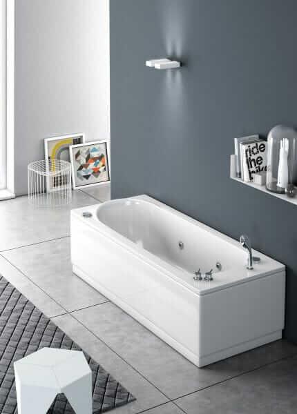 Vasca da bagno semplice